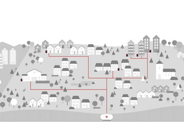 réseau de gaz propane Primagaz