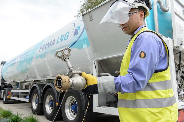 Belourthe levering LNG