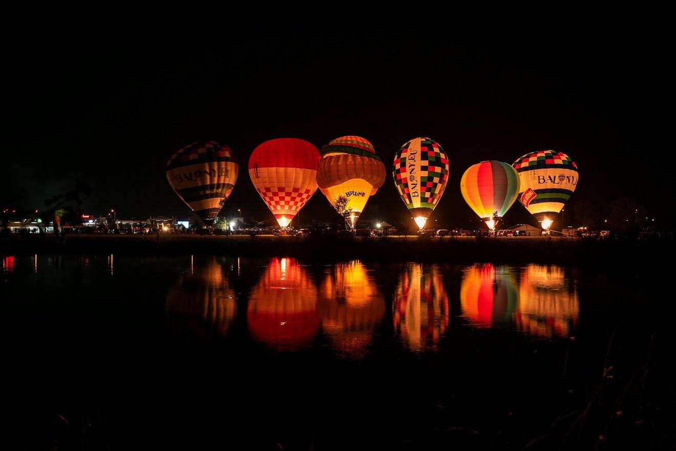 propan do horkovzdušných balónů