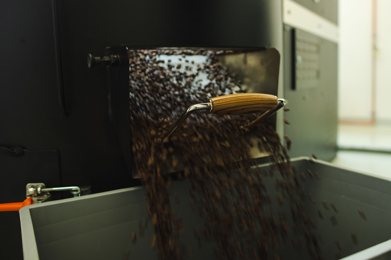 PRIMAGAS pro pražírny kávy