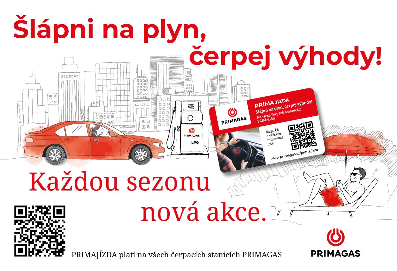 LPG PRIMAGAS věrnostní program