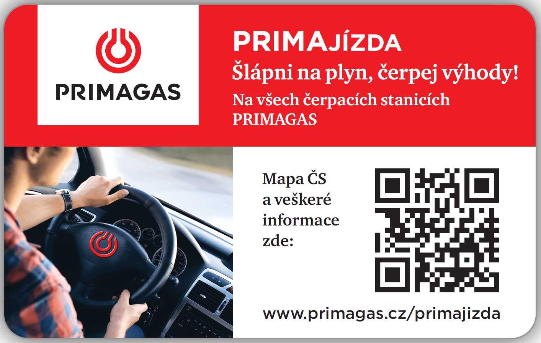 Primajízda na LPG od Primagasu