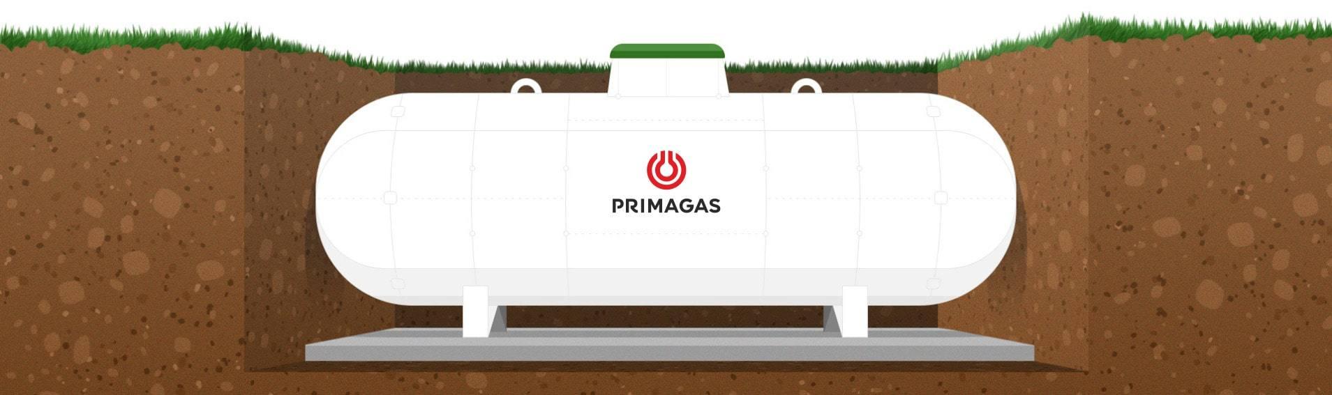 LPG nádrž PRIMAGAS podzemní