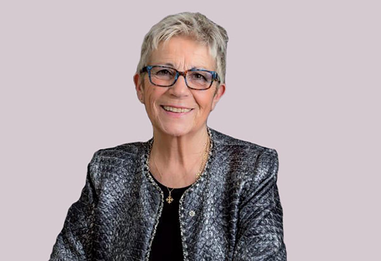 Portrait de Monique Rubin, Présidente de la Fédération des marchés de France