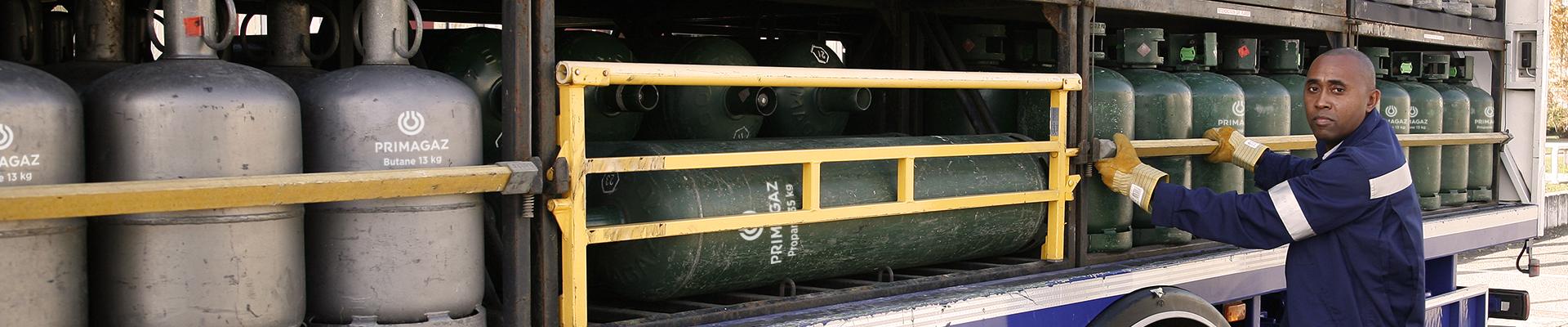 Distribution bouteilles Primagaz