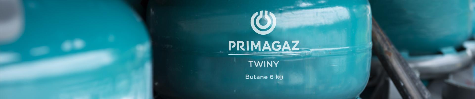 Stockage bouteilles gaz Primagaz