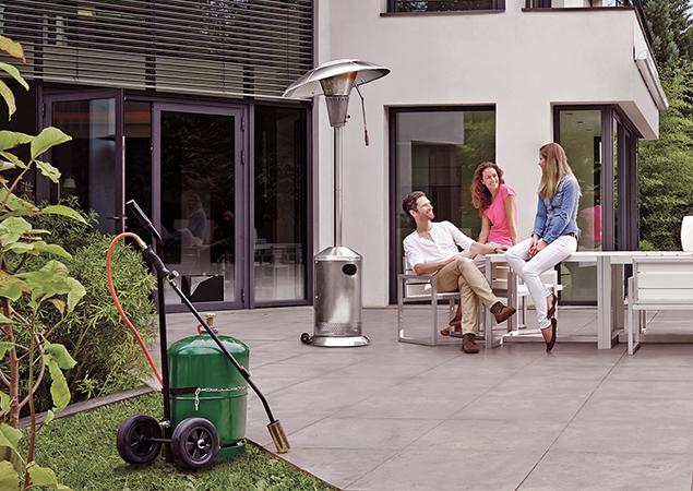 Bouteille de gaz pour la maison et le jardin