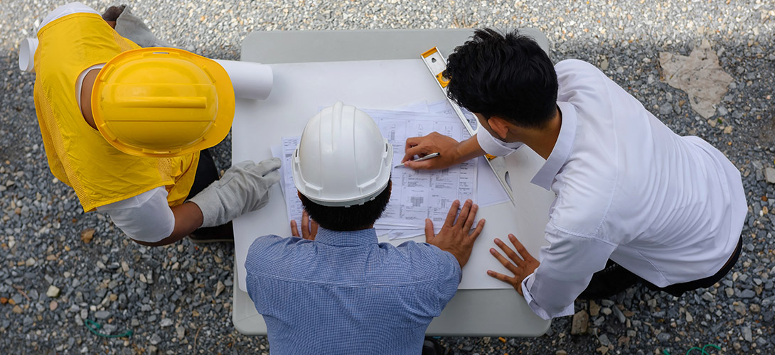 Construire sa maison - le chantier avec Primagaz