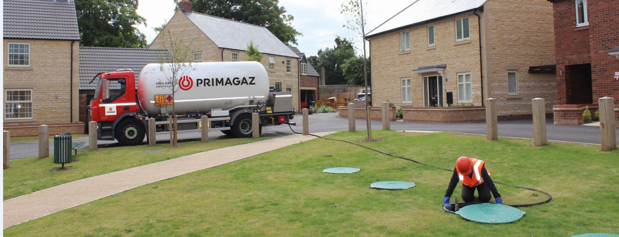 Livraison de gaz chez Primagaz