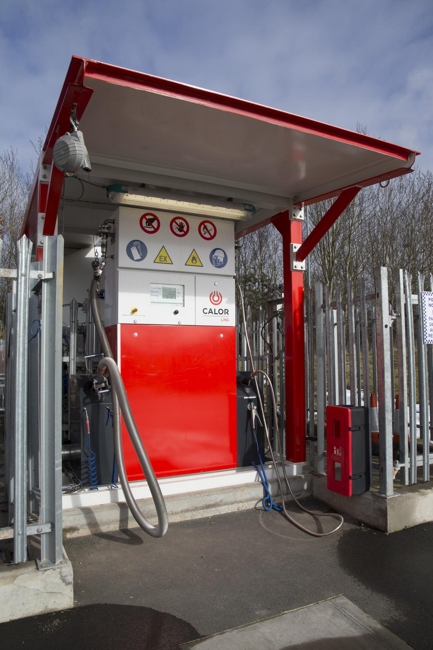 Calor LNG refuelling stations for UK roads