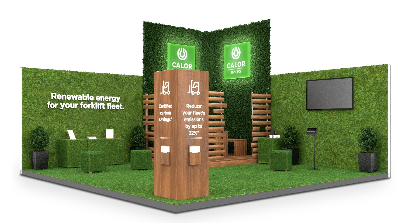 Calor Intralogistex Stand Design