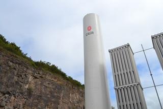 Calor LNG-fuelled asphalt plant