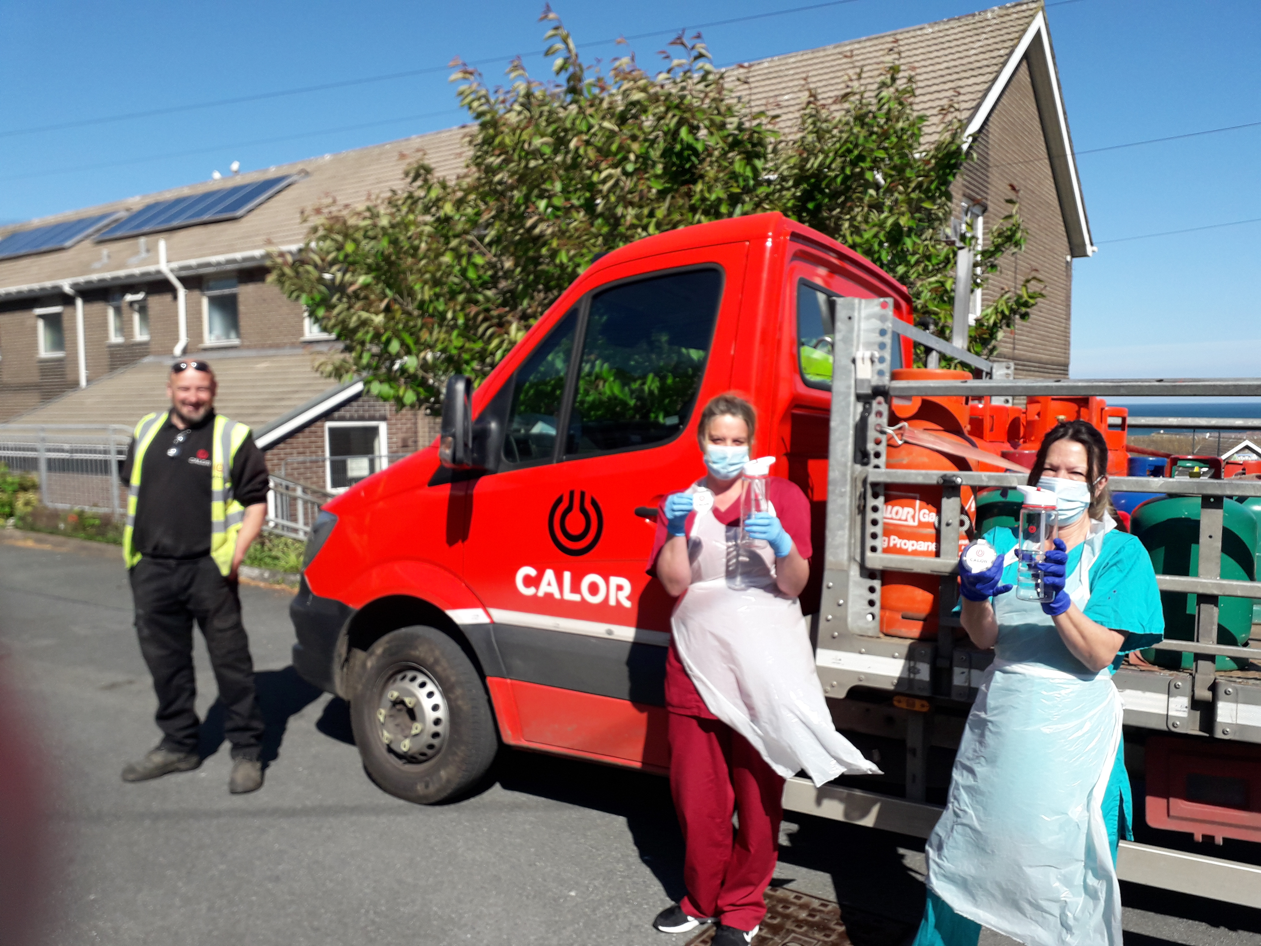 Calor supports care home workers