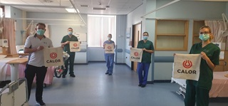 Calor donates to Prince Philip Hospital