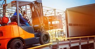 Calor LPG powered Forklift truck