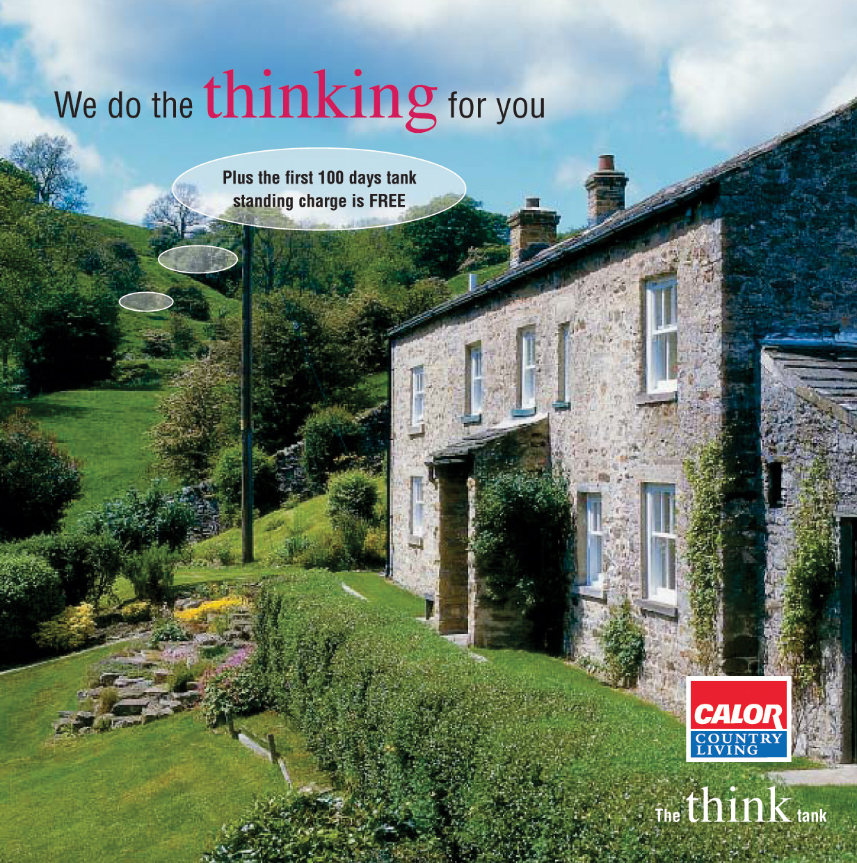Calor 'The Think Tank' advertisement from 2004