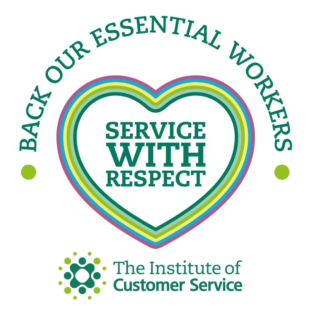 ICS Service with Respect logo