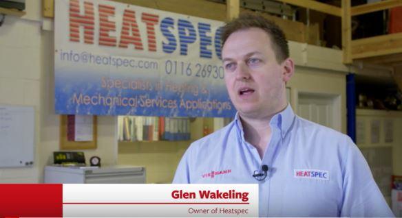 Glen Wakeling, owner of Heatspec