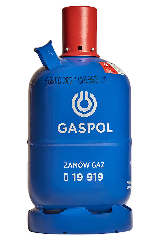 Butla gazowa 5kg propan-butan