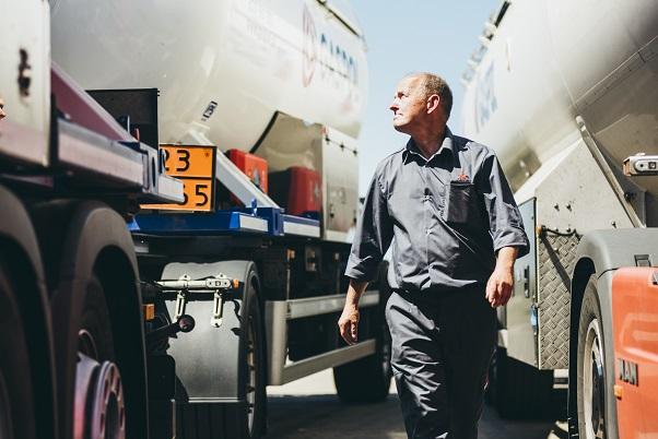 Transport butli gazowych GASPOL
