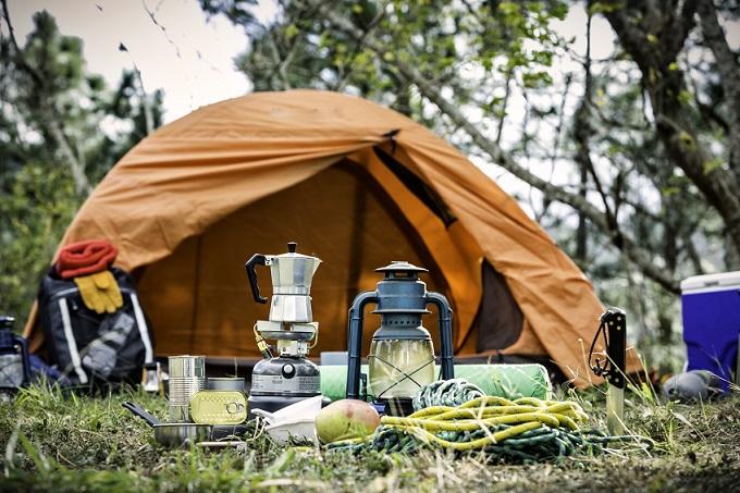 Turystyka namiot butla gazowa Gaspol