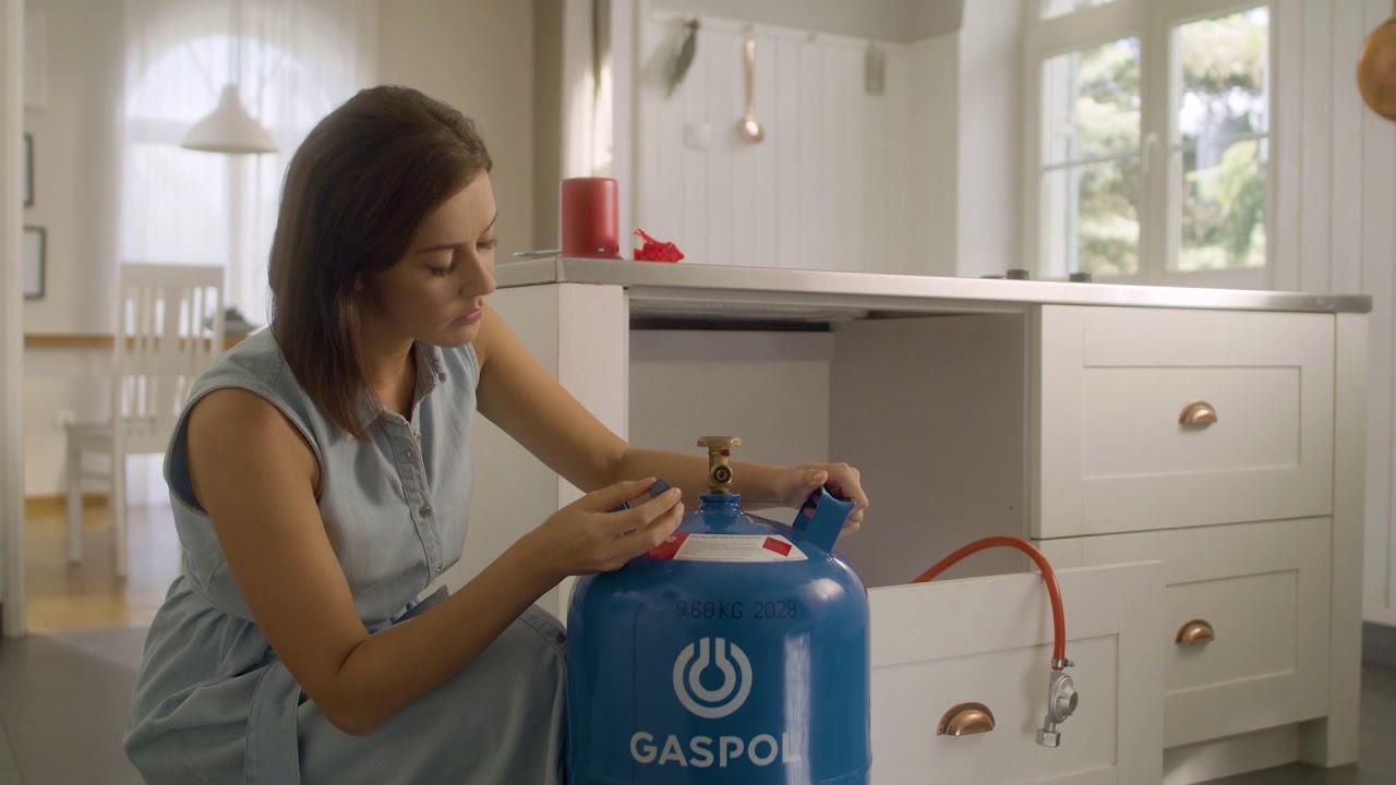 Jak bezpiecznie podłączyć butlę gazową